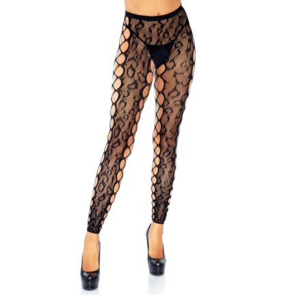 FOOTLESS CROTHLESS TIGHTS ONE SIZE
